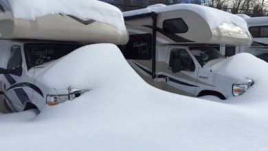 Photo of Winter Storm's Labor Lost for New England RV Dealers