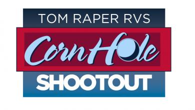 Photo of Tom Raper RV Hosting Cornhole Shoot-Out