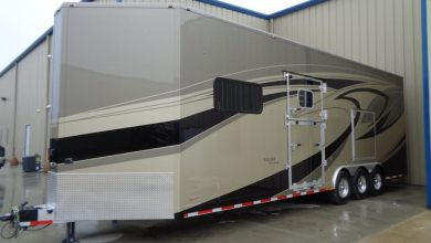 Photo of Equine Motorcoach Debuts Equine Carriage Trailer