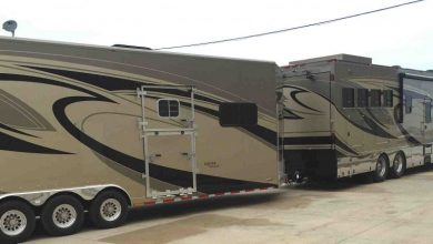Photo of Equine Motorcoach Featured at Rolex Race in Kentucky