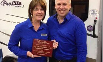 Photo of Jerry's RV Named Top ProLite Dealer