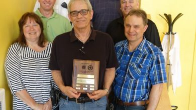 Photo of State Safety Council Honors Winnebago's Hazard Control Efforts