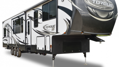 Photo of Heartland Debuts Fifth Wheel Toy Hauler for Half-Ton Trucks