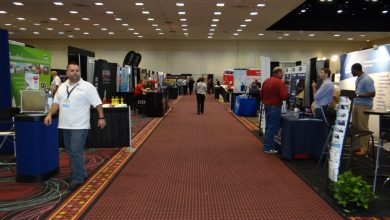 Photo of Exhibit Space for RVDA Expo Near Full