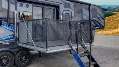Photo of Keystone Debuts Fifth Wheel Toy Hauler