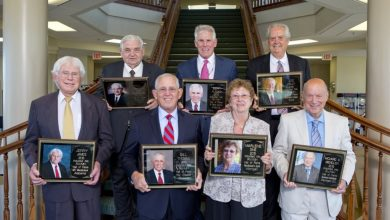 Photo of Hall of Fame Honors 2015 Inductees at Elkhart Gala