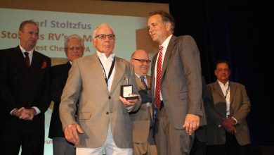 Photo of Stoltzfus Honored With James B. Summers Award