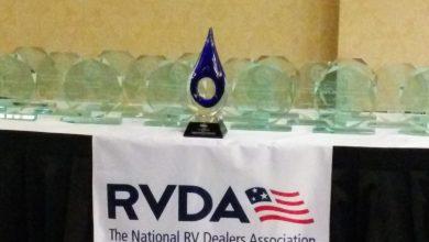 Photo of RV Dealers Honor 11 Keystone Lines at Circle Awards