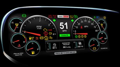 Photo of Freightliner Debuts OptiView Instrument Cluster