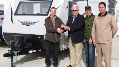 Photo of California Resident Wins Lance Camper in Sweepstakes