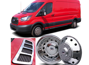 Photo of Supplier Debuts Stainless Steel Ford Transit Wheel Covers