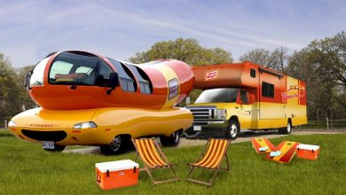 Photo of Oscar Mayer Auctions RV for Super Bowl Space
