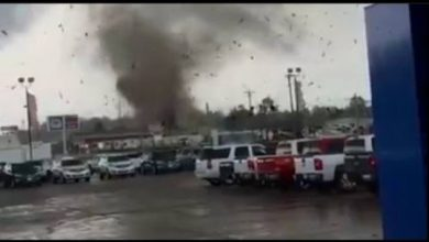Photo of Tornado Damages Kentucky Dealership