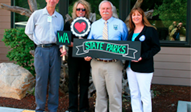 Photo of Washington Shows Donate to State Parks