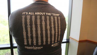 Photo of Grand Design Honors Team Members
