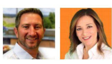 Michael Carr and Tonya Eberhart