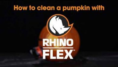 Photo of Camco: Easiest Way to Clean a Pumpkin? RhinoFLEX Style