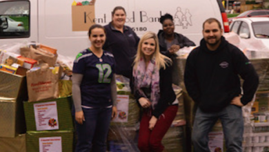 Photo of Torklift Pitches In to Help Food Bank