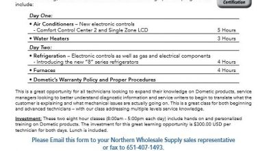 Photo of Northern Wholesale Supply Hosts Dometic Advanced Training Academy