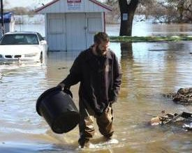 Photo of River Flooding Displaces Dozens of RV Park Residents