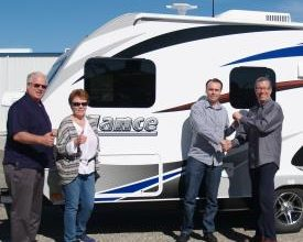 Photo of Lance Gives Away a 14-Foot Ultra-Light Travel Trailer