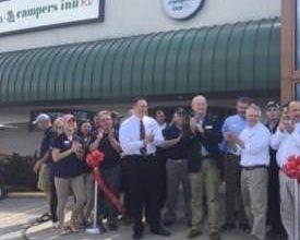 Photo of Campers Inn Celebrates Opening of Store in Clarksville, Ind.
