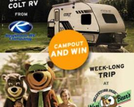 Photo of RV Trader Partners for the Great American Campout