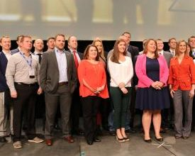 Photo of 18 Elkhart-Area Employees Named '40 Under 40′