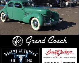 Photo of Grand Coach Class B's on Display at Auto Auction