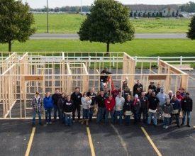 Photo of Community: LCI Hosts H4H Home Build