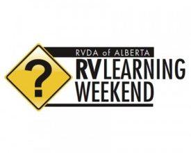 Photo of RVDA of Alberta Learning Weekend Starts May 25