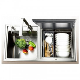 Contoure Unveils Built In Dishwasher Sink Combo Rv Pro