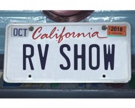 Photo of Spaces for California RV Show Sell Out