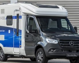 Photo of Sprinter with Electric Drive and Fuel Cell Teased