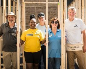 Photo of Community: Dometic and Habitat for Humanity Partner