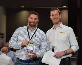 Photo of Meyer's VP of Sales Wins SEMA Award