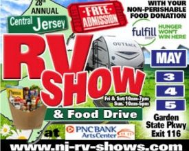 Photo of Central Jersey RV Show & Food Drive Begins May 3