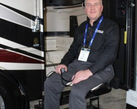 Photo of Newmar Prepped to Give Mobility-Challenged RVers a Lift