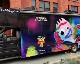 Photo of 'Toy Story 4' RV Travels Across the Nation