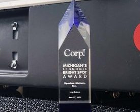 Photo of Spartan Motors Recognized by 'Corp!' Magazine