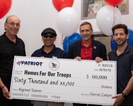Photo of Community: Patriot Coolers Donates $60K to Military Charity
