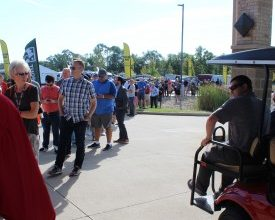 Photo of Lines, Bands and Sales Spark Open House Tuesday