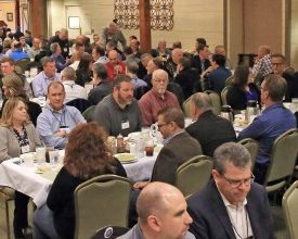 Photo of Natural Stone and Tile Wins Coveted Award at Newmar Vendor Dinner