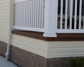 Photo of Novik Releases Stone-like Skirt for Manufactured Housing Market