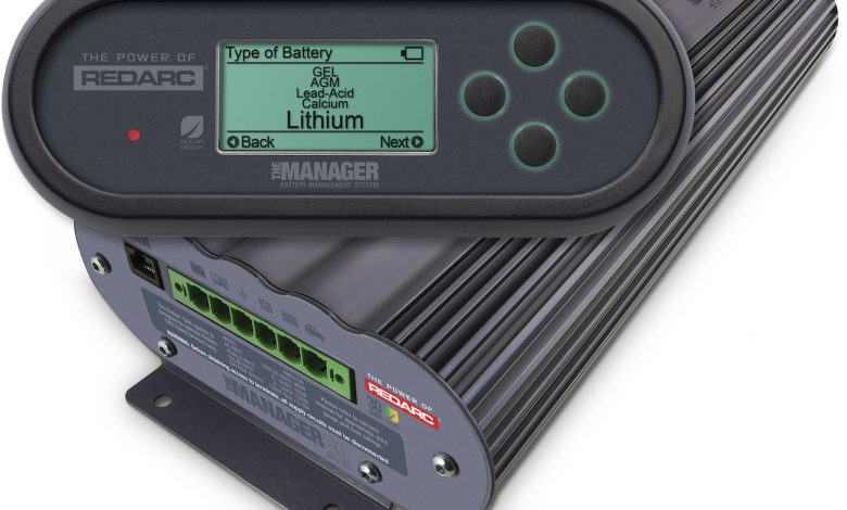 Manager30, unit and remote battery monitor