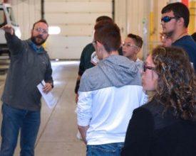 Photo of Spartan Motors Hosts 100 High School Students
