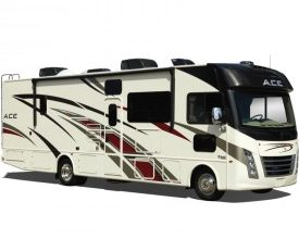 Photo of TMC on Display at California RV Show
