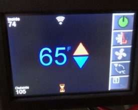 Photo of Micro-Air Unveils EasyTouch RV Thermostat