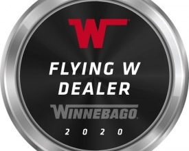 Photo of Winnebago Names 'Flying W Dealer Excellence Award' Winners