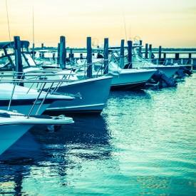 boats at a dock